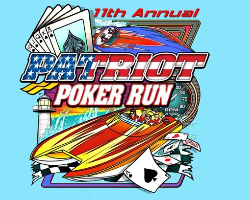 Boat Poker Run Shirt Designs